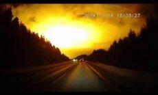 Video: Krievijā nespēj izskaidrot Sverdlovskas mistisko gaismas uzplaiksnījumu