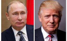 Tramps un Putins telefoniski apsprieduši Sīrijas krīzi