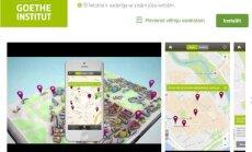 Tapusi maršrutu plānošanas lietotne – 'Vācu pēdas' Latvijā