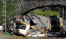 Vilciena avārijā Spānijā vismaz četri bojāgājušie