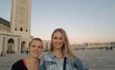 Divas blondīnes Marokā: vilinošā Kasablanka, kur satiekas dažādas pasaules