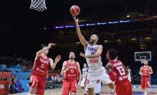 Определился соперник сборной Латвии в четвертьфинале Евробаскета