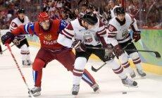 Латвия сыграет против России на ЧМ-2012 в белой форме