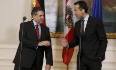 Austrija un Vācija mudina ES saliedēties ASV un Krievijas spiediena dēļ