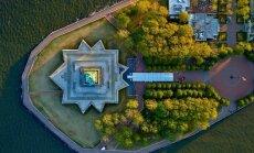 Foto: Ņujorkas ielu perfekcionisms un simetrija no putna lidojuma