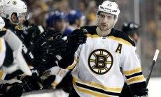 Daugaviņa jaunā komanda 'Bruins' NHL mačā piekāpjas 'Canadiens'