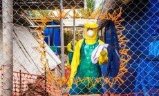 Āfriku sasniegusi mazāk nekā puse no Ebolas apkarošanai paredzētajiem līdzekļiem