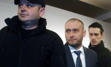 Interpols izsludina meklēšanā Ukrainas 'Labējā sektora' līderi Jarošu