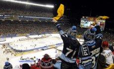 NHL spēli Dienvidkalifornijā varēs vērot šortos un T-kreklā