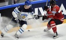 Somijas izlase sagrauj Kanādu un uzvar B apakšgrupā