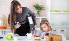 Vecākiem dzīve steidzīga, bet bērns ir lēnīgs. Kā palīdzēt mazulim un pašiem sev
