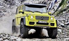 """ФОТО, ВИДЕО: Mercedes-Benz показал самый экстремальный """"Гелендваген"""""""
