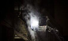 Izdegušajā Krapša kabinetā nebija dūmu detektora; bažas par apdrošināšanas atmaksu