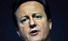 Kamerons sola Putinam skaidrot britu aizdomas par 'Airbus A-321' nogāšanās iemesliem