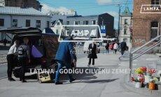 Festivāla 'Lampa' video eksperiments: vai Latvija ir godīgu cilvēku zeme