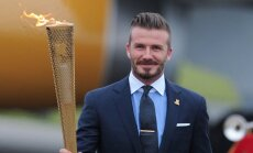 Francijas klubs PSG paraksta līgumu ar angļu futbolistu Bekhemu
