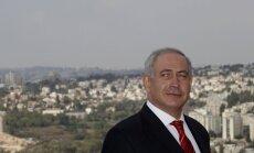 Netanjahu no jauna pauž atbalstu palestīniešu valsts izveidošanai