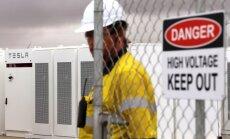 Darba drošības inspekcija pārbauda kompānijas 'Tesla' darba vidi