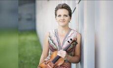 Ciklā 'Dzimuši Latvijā' Dzintaru koncertzālē uzstāsies vijolniece Vineta Sareika