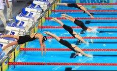 Amerikāniete Ledeckija labo pasaules rekordu 400 metru brīvā stila peldējumā