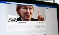 'Facebook' radīta kustība 'Grende, atkāpies!'- kultūras ļaudis prasīs demisiju