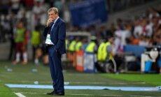 Hodžons atkāpies no Anglijas futbola izlases trenera amata