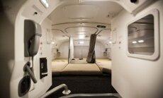 ФОТО: Маленькие спаленки над головой пассажиров, или Где во время перелета спят стюарды и стюардессы