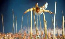 Foto: Grandiozais koncertuzvedums 'No zobena saule lēca' saviļņo Rīgu