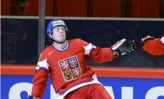 Latvijas hokejistu pretiniece Čehija pārbaudes spēlē sagrauj Vāciju