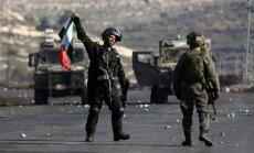Izraēlas spēki iebrukuši palestīniešu televīzijas kanāla birojā