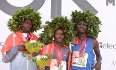 'Lattelecom' Rīgas maratonā ar jaunu sacensību rekordu uzvar Etiopijas skrējējs Ajana