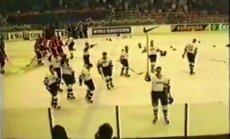 Исторические ВИДЕО и ФОТО: Как сборная Латвии 20 лет назад вышла в элиту