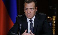 Krievija janvārī pret Ukrainu ieviesīs pārtikas produktu embargo, paziņo Medvedevs