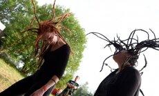 Foto: Grebenes, panki un metāls festivālā 'Klang'