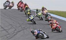 Leģendārais Rosi uzvar jaunās 'MotoGP' sezonas pirmajā posmā