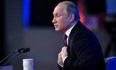 Саакашвили гоняют как вшивого по бане. Что говорил Путин на итоговой пресс-конференции