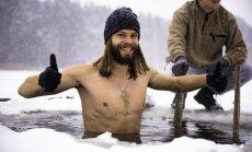 Baskājainais 'Jēzus' Edgars Rencis: zeķes man kājās pēdējo reizi bija 2013. gadā