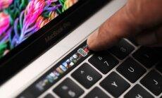 'Apple' prezentē jaunu klēpjdatoru ar īpašu skārienekrānu