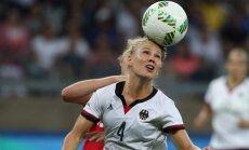 Riodežaneiro vasaras olimpisko spēļu sieviešu futbola turnīra pusfinālu rezultāti (16.08.2016)