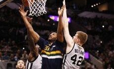Bertāns pirmoreiz NBA nospēlē virs 30 minūtēm un palīdz 'Spurs' pārspēt 'Jazz'