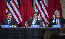 ASV ar Ķīnu atsāk sarunas par abu valstu strīdīgajām investīciju vides attiecībām