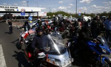 Polijas robežsargi valstī neielaiž motokluba 'Nakts vilki' biedrus