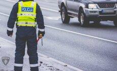 Trešdien uz slidenajiem Rīgas ceļiem reģistrēti jau 83 satiksmes negadījumi