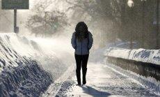 В ночь на четверг ударят морозы: на востоке Латвии - до -16 градусов