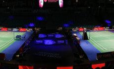 Arī badmintonistes Lencēviča/Romanova no EČ izstājas pēc pirmās spēles