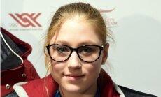 Daiļslidotāja Ņikitina izcīna uzvaru savās otrajās sacensībās pieaugušo konkurencē