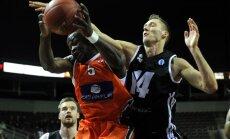 'VEF Rīga' basketbolisti savā laukumā nespēj pieveikt 'Sarthe Basket'