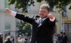 Ukraina un Krievija vienojusies par gāzes cenu, paziņo Porošenko
