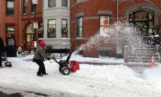 Spēcīga ziemas vētra plosa ASV un Kanādu