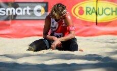 В плей-офф чемпионата мира латвийские волейболисты трижды проиграли бразильцам